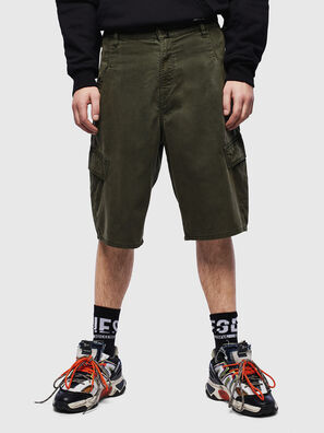 D-KRETT-SHORT JOGGJEANS, Verde Militare - Shorts