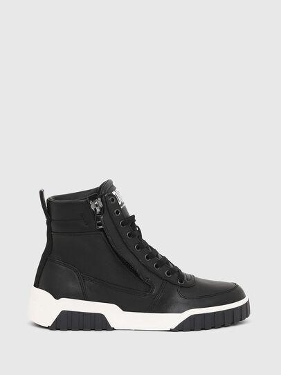 Diesel - S-RUA MID W, Nero - Sneakers - Image 1