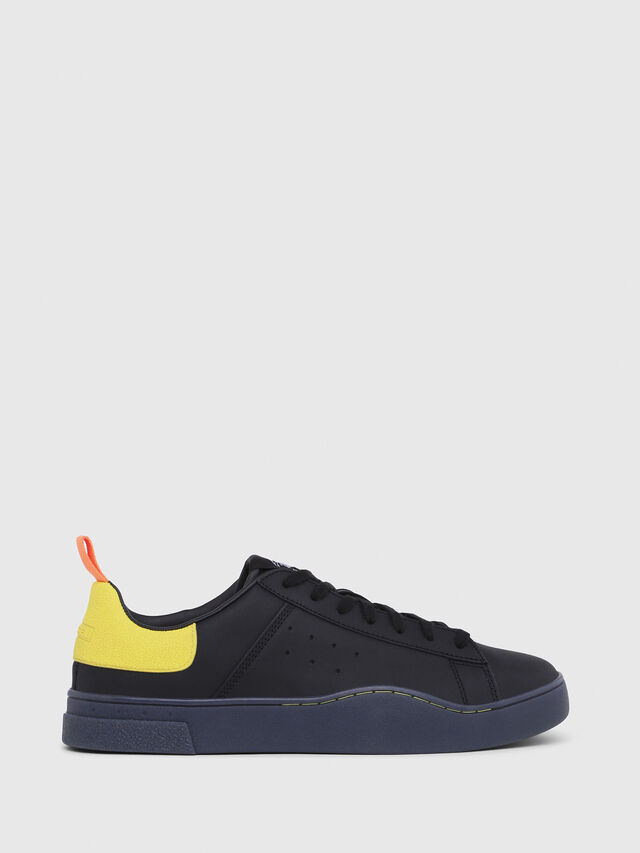 Diesel - S-CLEVER LOW, Nero/Giallo - Sneakers - Image 1