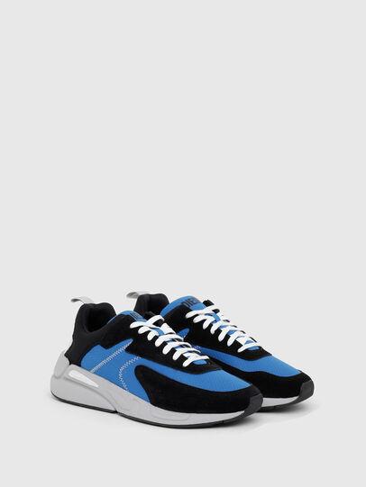 Diesel - S-SERENDIPITY LOW CU, Nero/Blu - Sneakers - Image 2