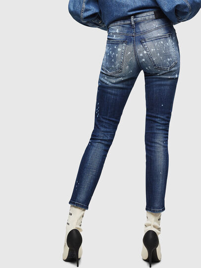 Diesel - Babhila 0091Y, Blu medio - Jeans - Image 2