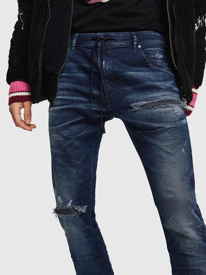 Diesel - Krooley JoggJeans 069JE, Blu Scuro - Jeans - Image 4