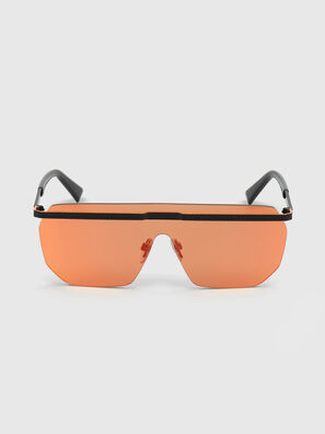 DL0259, Arancione/Nero - Occhiali da sole
