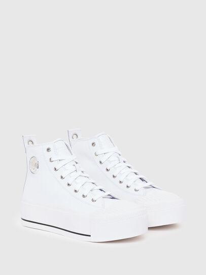 Diesel - S-ASTICO MC WEDGE, Bianco - Sneakers - Image 2