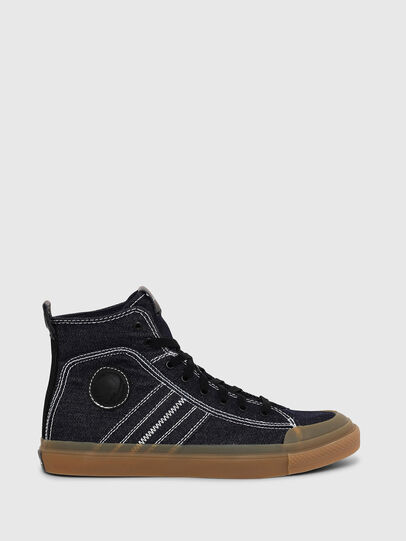 Diesel - S-ASTICO MID LACE, Blu Scuro - Sneakers - Image 1