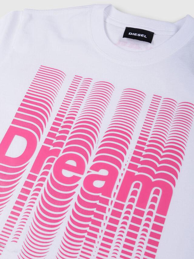 Diesel - TJUSTSE, Bianco - T-shirts e Tops - Image 3