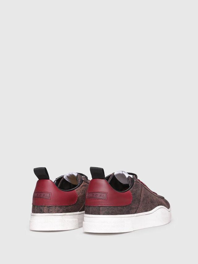 Diesel - S-CLEVER LOW, Bordeaux - Sneakers - Image 3