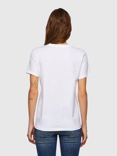 Diesel - T-SILY-B3, Bianco - T-Shirts - Image 2