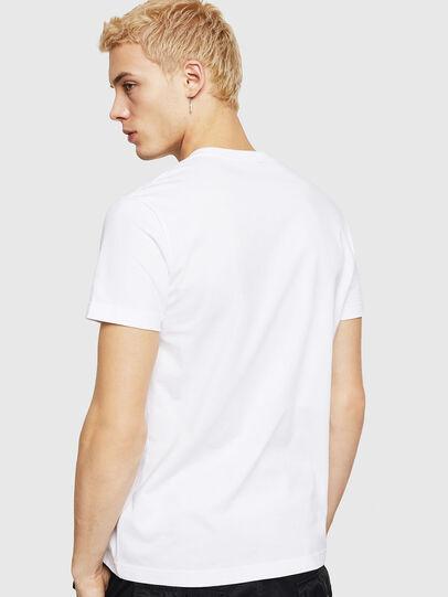Diesel - T-DIEGO-DIV, Bianco - T-Shirts - Image 3