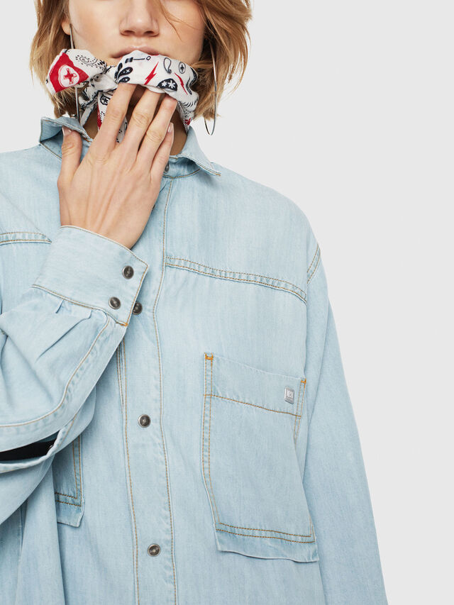 Diesel - DE-SUP, Blu Jeans - Vestiti - Image 3