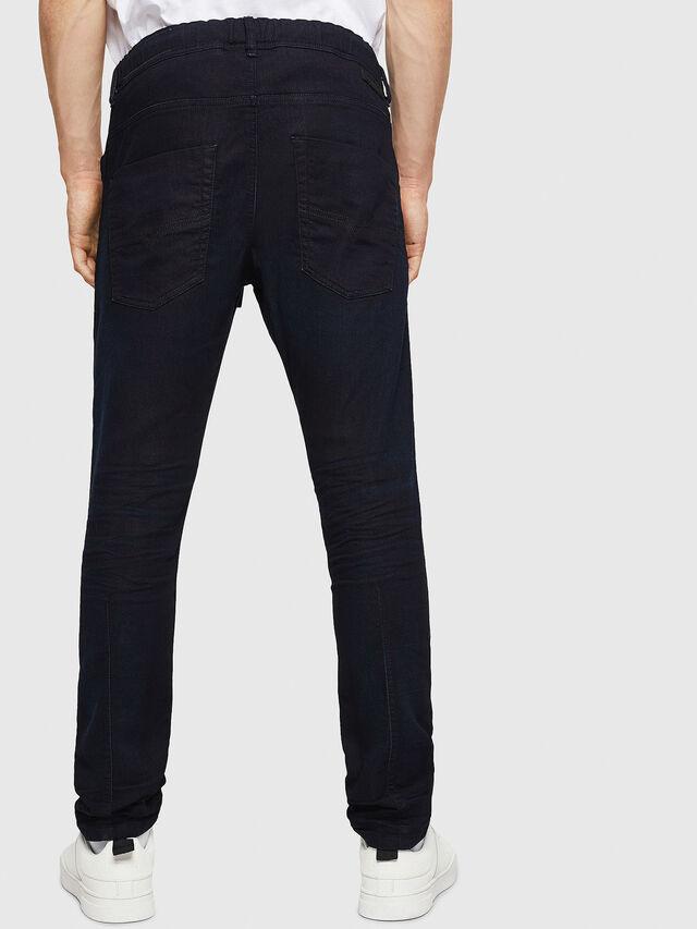 Diesel - Krooley JoggJeans 0829P, Blu Scuro - Jeans - Image 2
