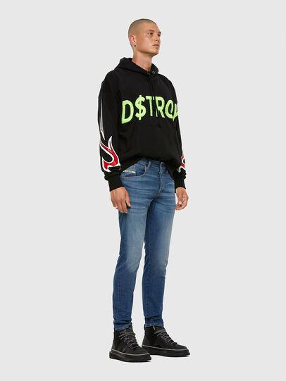 Diesel - D-Bazer 009DB, Blu medio - Jeans - Image 5