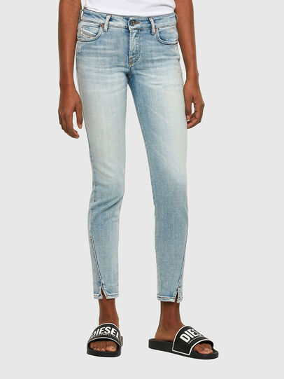 Diesel - D-Jevel 009PQ, Blu Chiaro - Jeans - Image 1