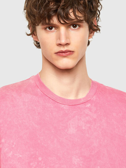 Diesel - T-JUST-E2, Rosa - T-Shirts - Image 4