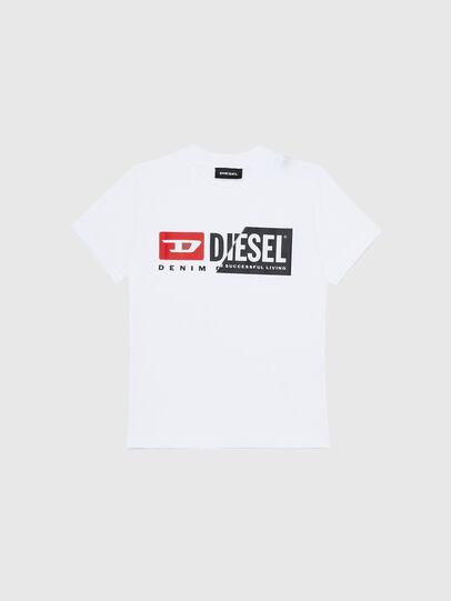 Diesel - TDIEGOCUTYB-R, Bianco - T-shirts e Tops - Image 1