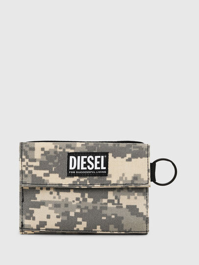 Diesel - YOSHI, Grigio - Portafogli Piccoli - Image 1