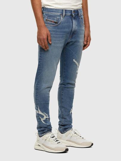 Diesel - D-Strukt 009DW, Blu Chiaro - Jeans - Image 6