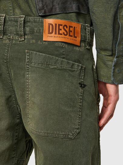 Diesel - D-Azerr JoggJeans® 069WH, Verde Militare - Jeans - Image 3
