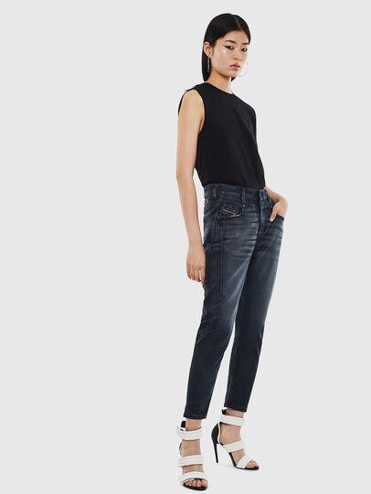 Diesel - FAYZA JoggJeans® 069MD, Blu Scuro - Jeans - Image 6
