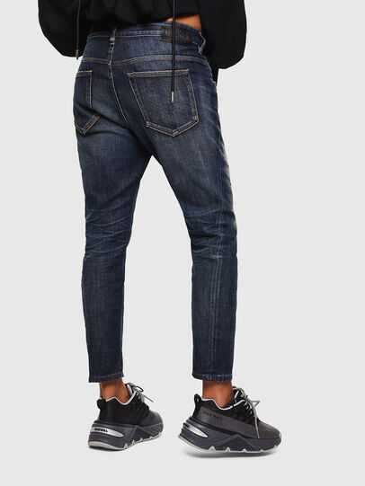 Diesel - Fayza 0096U, Blu Scuro - Jeans - Image 2