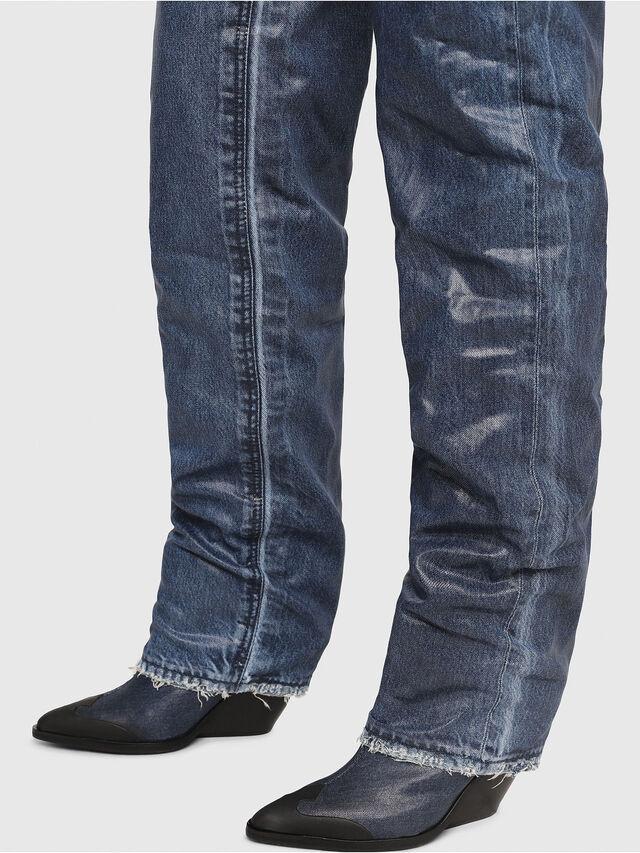 Diesel - D-WEST OTK, Blu Jeans - Stivali - Image 4