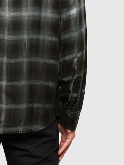 Diesel - S-KEITH, Nero/Bianco - Camicie - Image 4