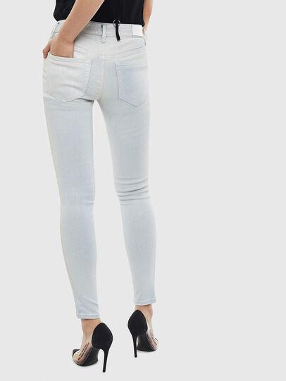 Diesel - Slandy 0099W, Blu Chiaro - Jeans - Image 2