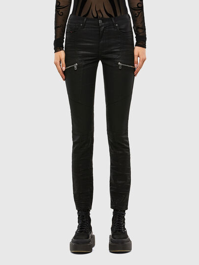 Diesel - D-Ollies JoggJeans® 069RK, Nero/Grigio scuro - Jeans - Image 1