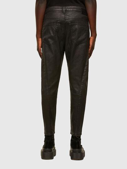 Diesel - FAYZA JoggJeans® 069PG, Nero/Arancio - Jeans - Image 2