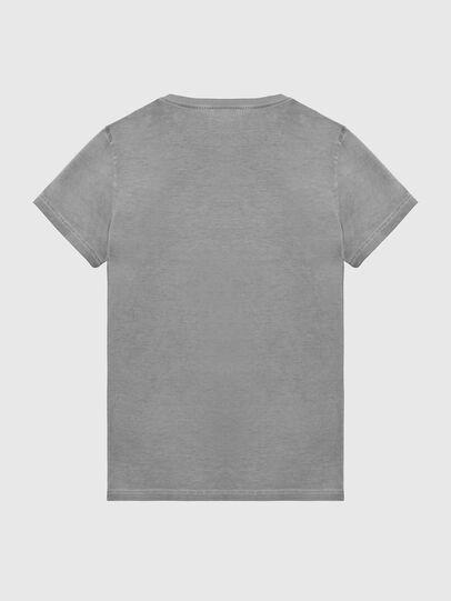 Diesel - T-DIEGO-LOGO, Grigio scuro - T-Shirts - Image 2