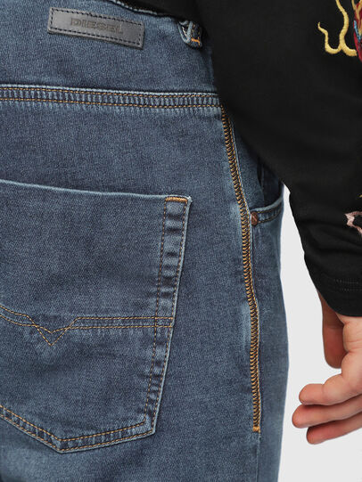 Diesel - Krooley JoggJeans 084UB, Blu medio - Jeans - Image 5