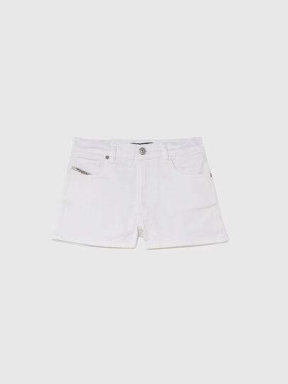 Diesel - PBOYSHORT JOGGJEANS, Bianco - Shorts - Image 1