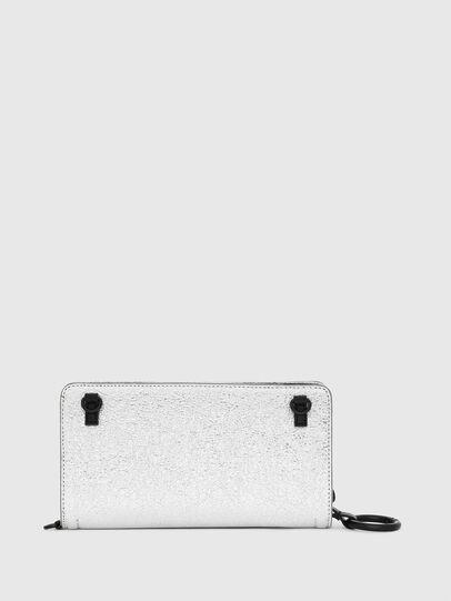 Diesel - GRANATO LCLS, Argento - Portafogli Con Zip - Image 2