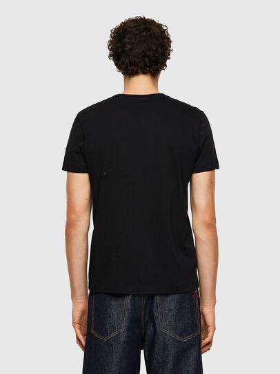 Diesel - T-INY-B1, Nero - T-Shirts - Image 2