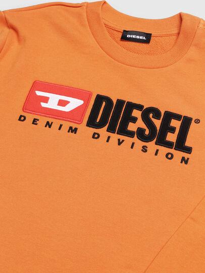 Diesel - SCREWDIVISION OVER, Arancione - Felpe - Image 3