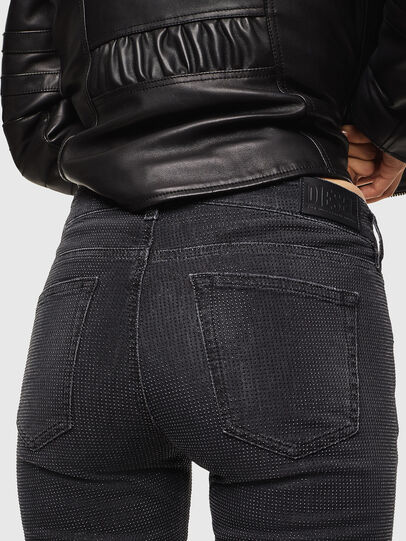 Diesel - D-Ollies JoggJeans 0093H, Nero/Grigio scuro - Jeans - Image 5