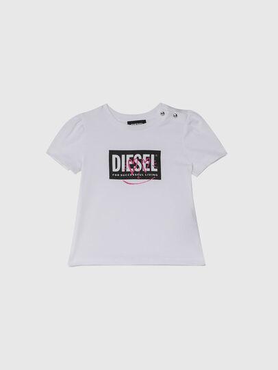 Diesel - TRIDGEB, Bianco - T-shirts e Tops - Image 1