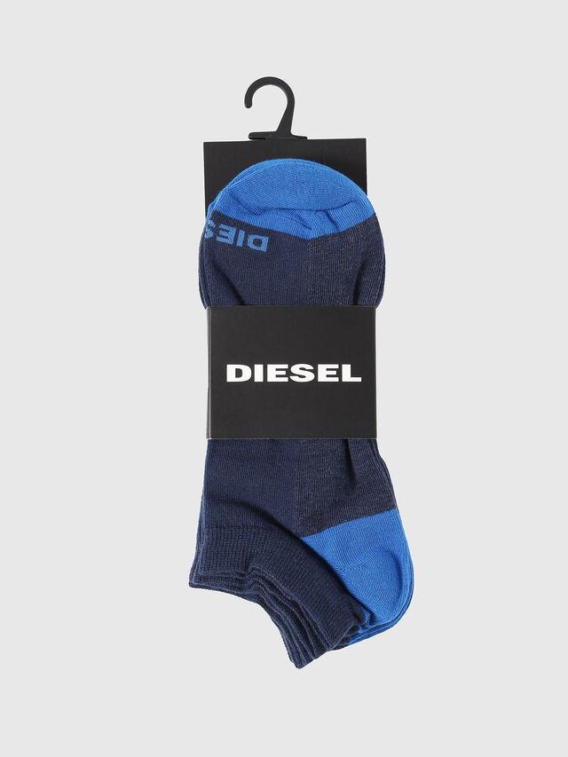 Diesel - SKM-GOST-THREEPACK, Indaco - Calzini corti - Image 2