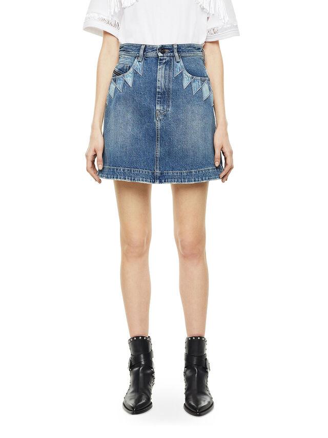 Diesel - OSSANA, Blu Jeans - Gonne - Image 1