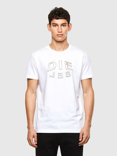 Diesel - T-DIEGOS-A1, Bianco - T-Shirts - Image 1