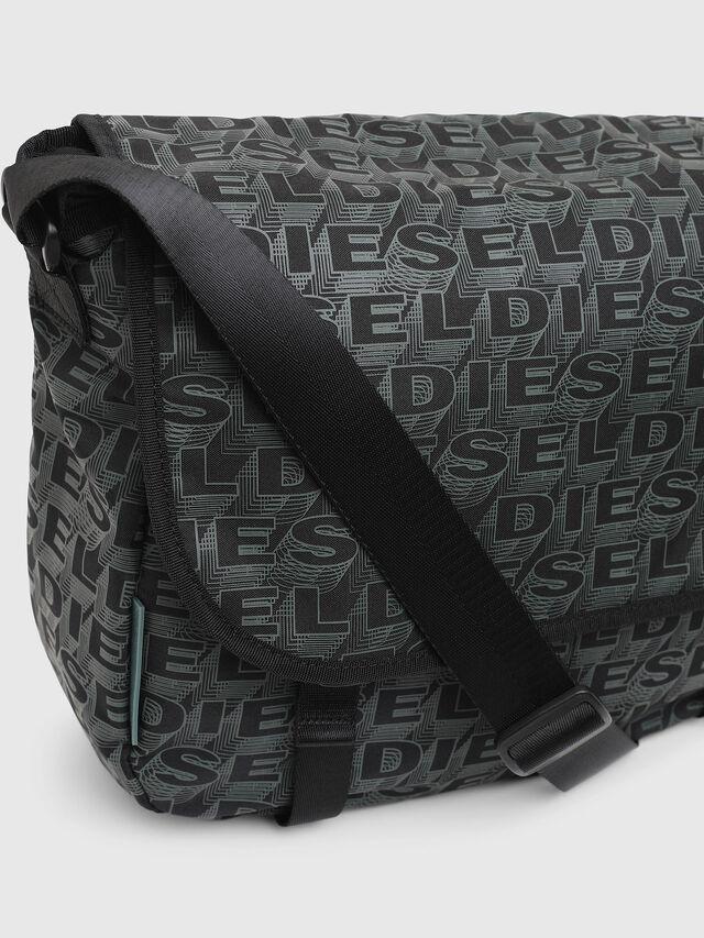 Diesel - F-DISCOVER MESSENGER, Nero/Verde - Borse da viaggio - Image 4