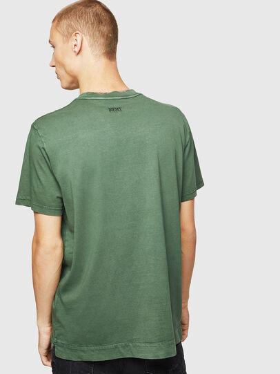 Diesel - T-THURE, Verde - T-Shirts - Image 2