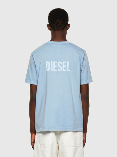 Diesel - T-JUBINDY, Blu Chiaro - T-Shirts - Image 2