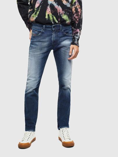 Diesel - Thommer 009BQ, Blu Scuro - Jeans - Image 3