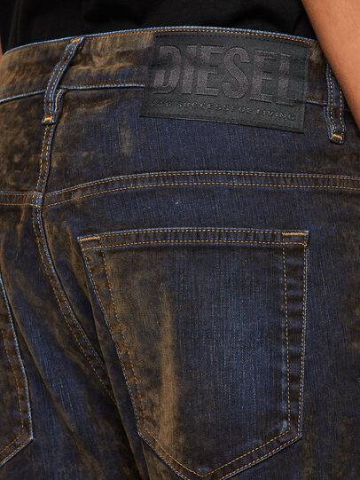 Diesel - Fayza 069RQ, Blu/Giallo - Jeans - Image 5