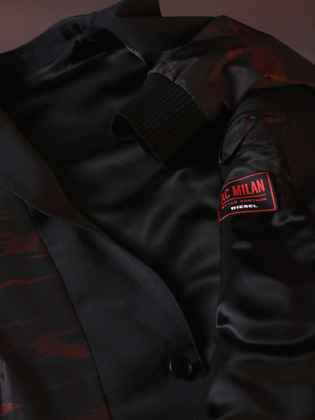 Diesel - DVL-JACKET-SPECIAL COLLECTION, Nero - Giacche - Image 8