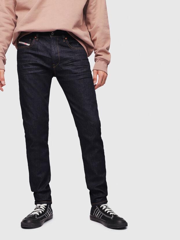 D-Strukt 082AC, Blu Scuro - Jeans