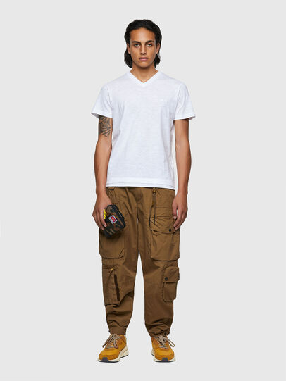 Diesel - T-NORRIE, Bianco - T-Shirts - Image 4