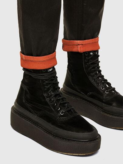 Diesel - FAYZA JoggJeans® 069PG, Nero/Arancio - Jeans - Image 5