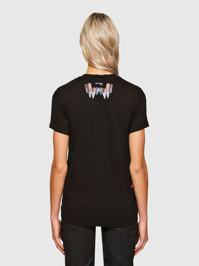 Diesel - T-SILY-R7, Nero - T-Shirts - Image 2